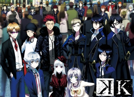 The characters of K Project