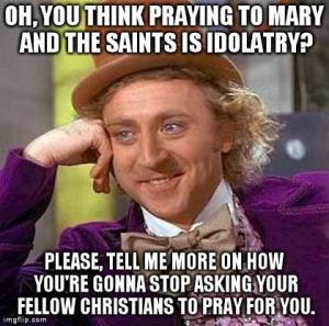 Godmean Wonka Idolatry